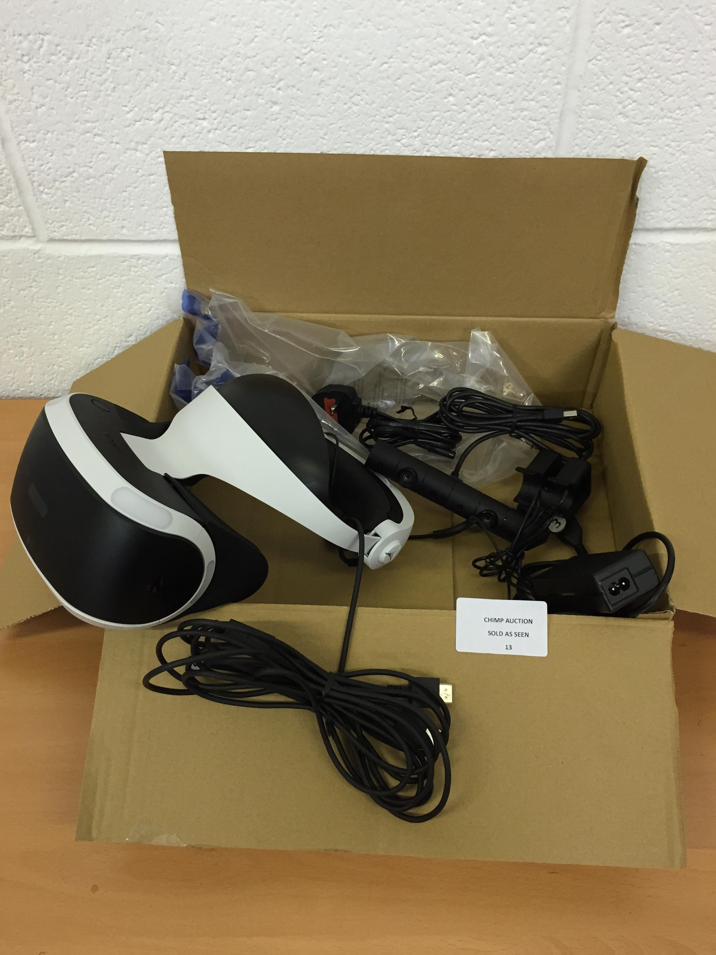 Lot 13 - Sony Playstation VR RRP £349.99.