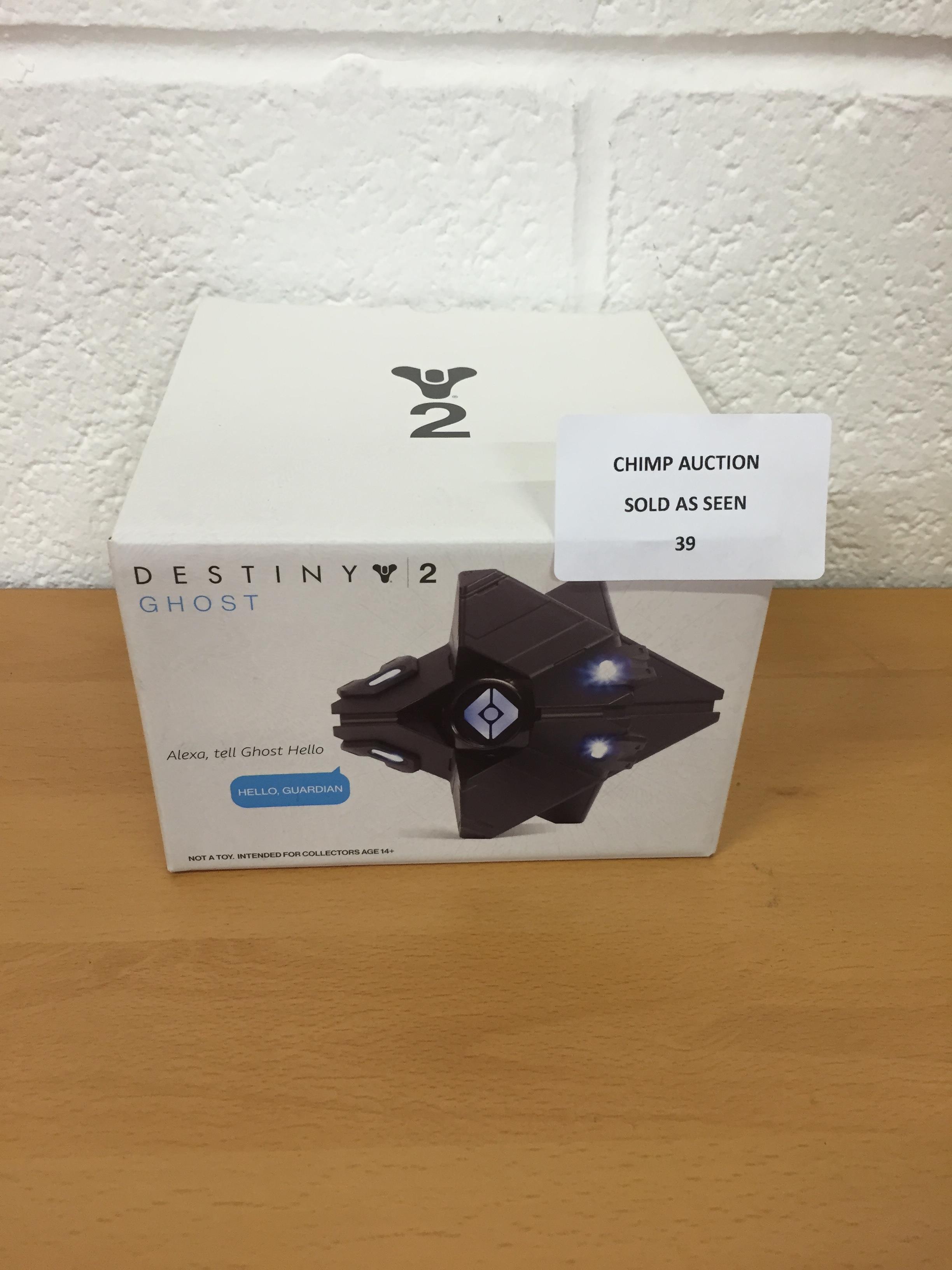 Lot 39 - Destiny 2 Ghost edition Alexa compatible RRP £79.99.