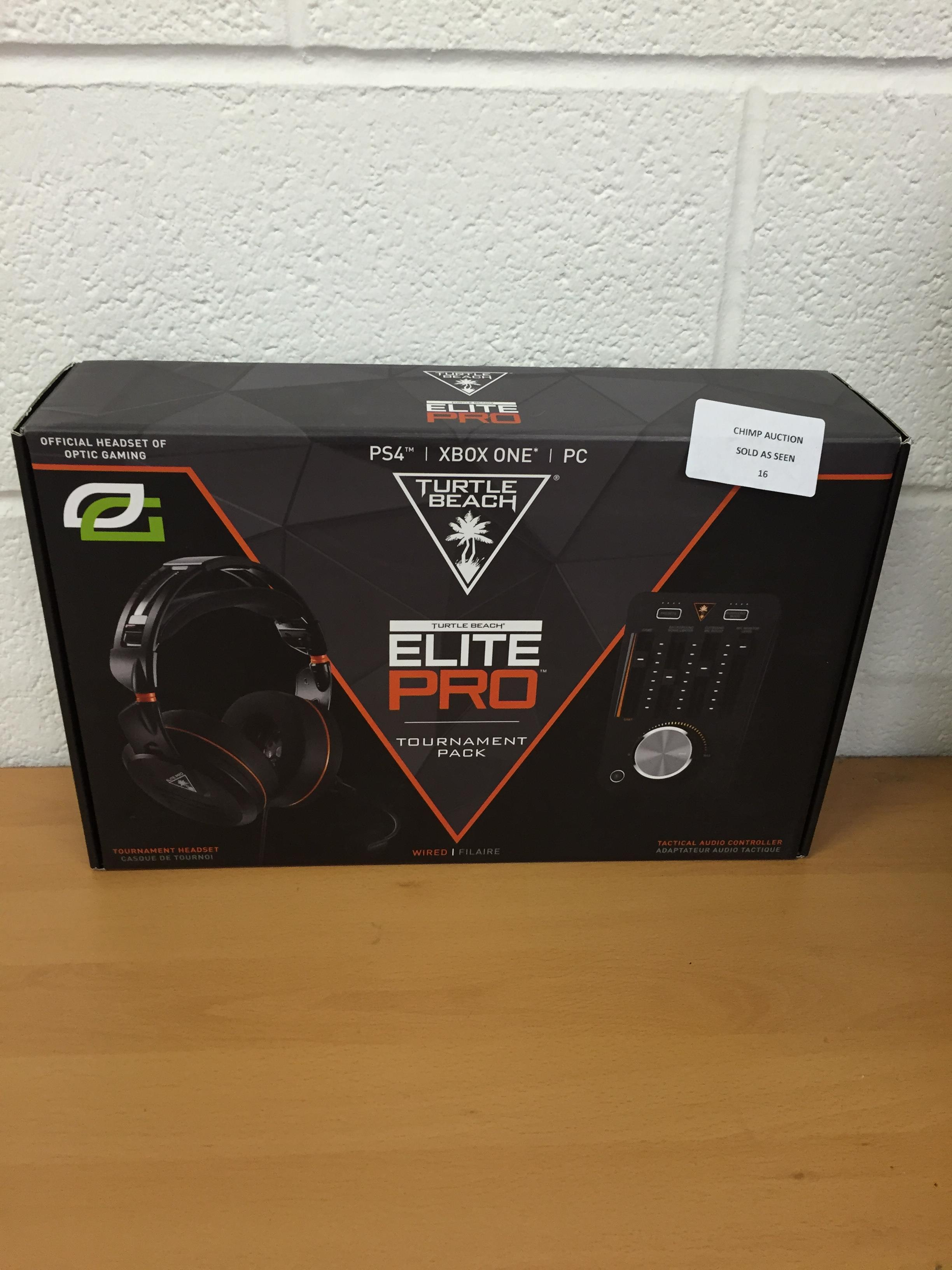 Lot 16 - Elite Pro Tournament Gaming Headset and TAC Bundle - RRP £269.99.