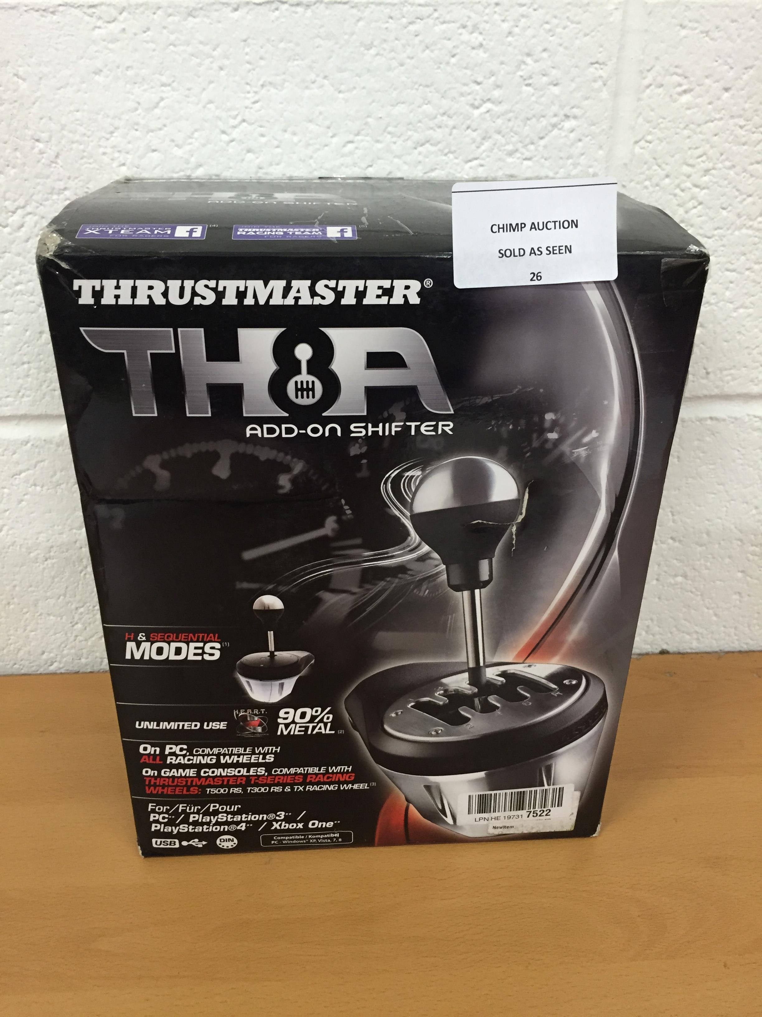Lot 26 - Thrustmaster TH8A Shifter (PS4, Xbox One, PS3, PC RRP £179.99
