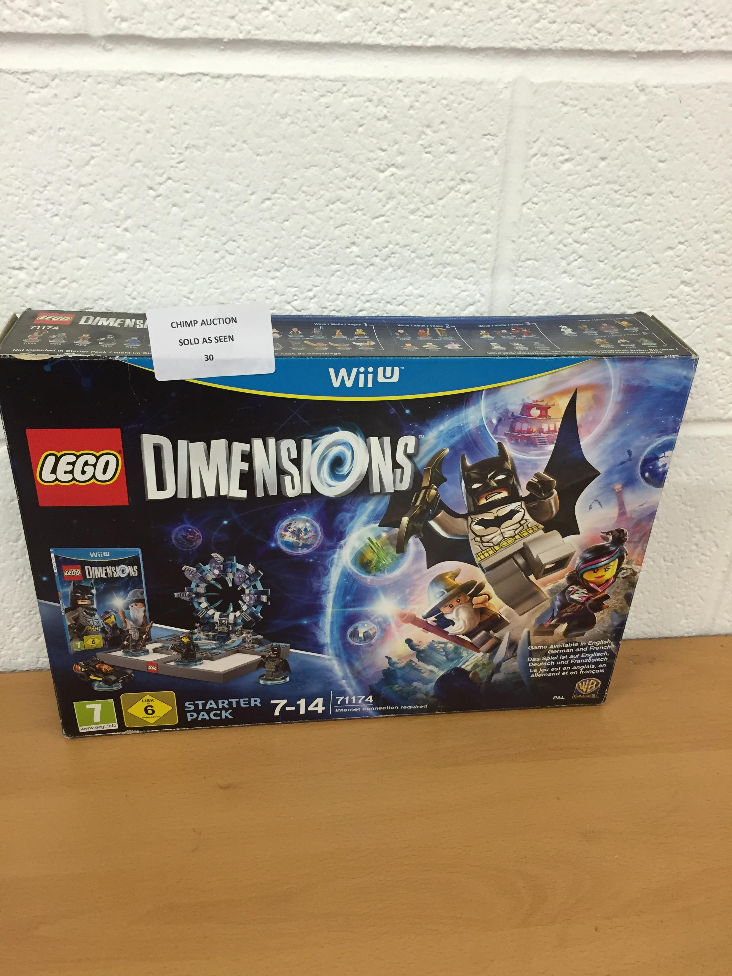 Lot 30 - Lego Dimensions Nintendo Wii U starter pack RRP £99.99.