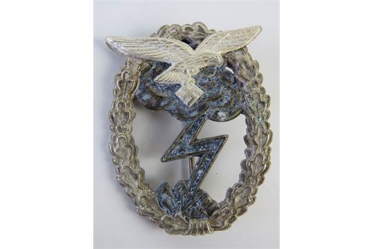 A WWII German Luftwaffe Ground Combat badge