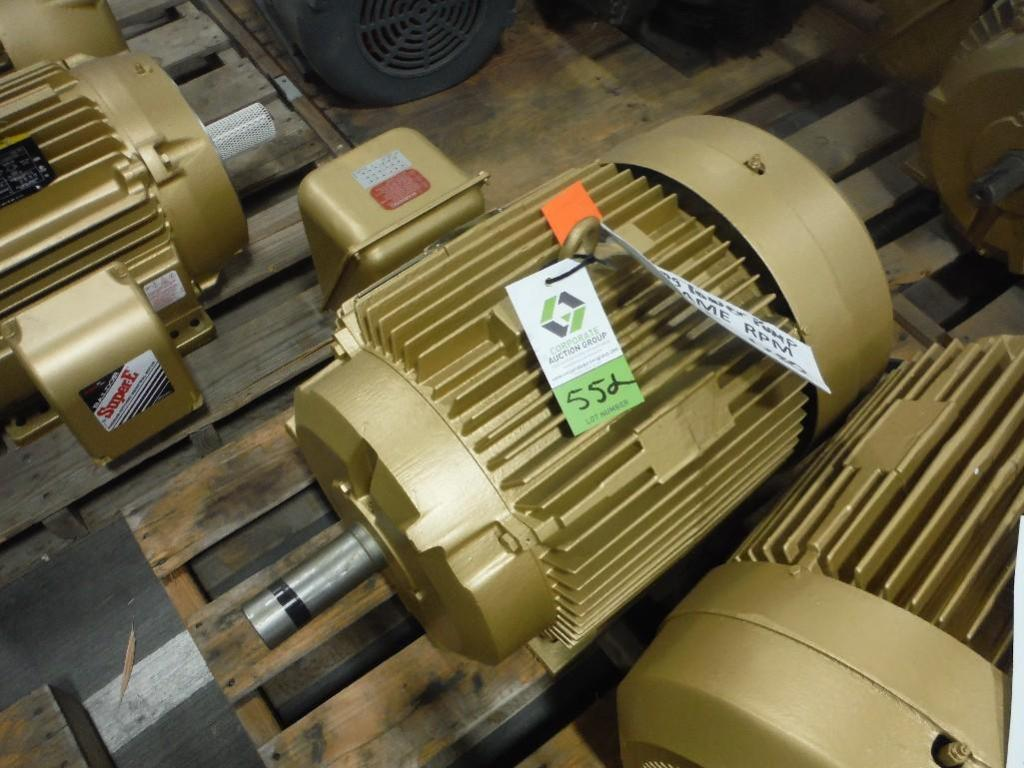 Baldor 60 Hp Motor Frame 364t 1780 Rpm Rigging Fee 25