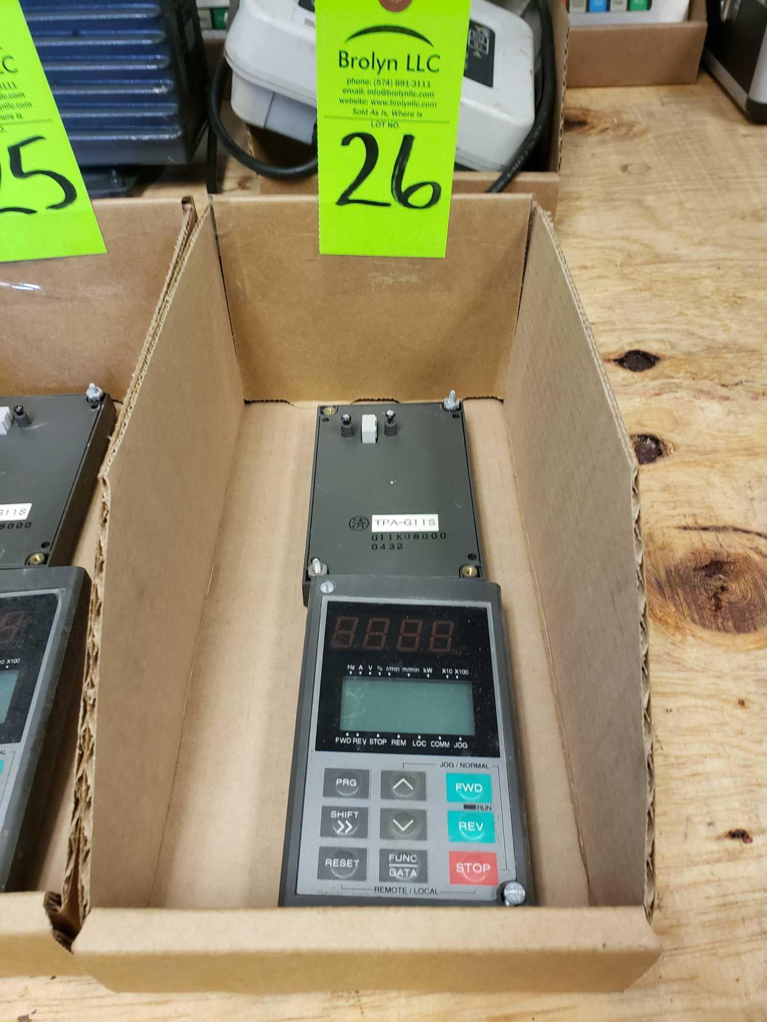 Lot 26 - Qty 2 - GE Fuji model TPA-G11S control pads