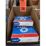Qty 2 - SKF bearings model 22216E. New in boxes.