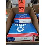 Qty 2 - SKF bearings model 22216CC/W33. New in boxes.