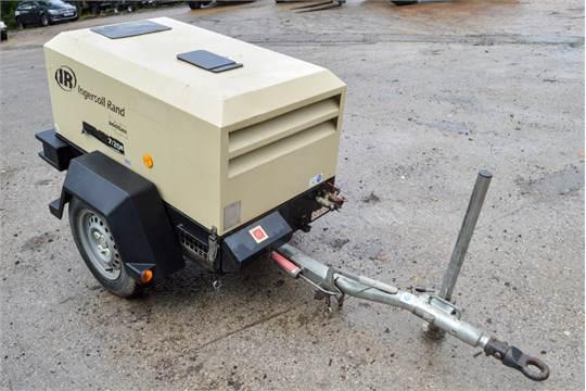 Ingersoll Rand 7/20E diesel driven mobile air compressor