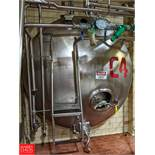 Damrow 5,000 Gallon S/S Jacketed Horizontal Tank with Vertical Agitation C-4, (Loc. North Mix)