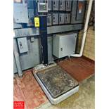 """Toledo Mobile Scale 30"""" x 24"""" Platform, 500LB Capacity, with Weigh-Tronix WI-125 DRO, (Loc."""