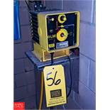 LMI Metering Pump Model: C721-75S 4 GPH, 100 PSI, with Programmable Divider, (Loc. South Mix)