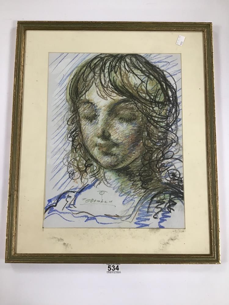 Lot 534 - THOMAS O'DONNELL TWO GILT FRAMED AND GLAZED PENCIL DRAWINGS OF STILL LIFE BOTH SIGNED, 60CM X W50CM