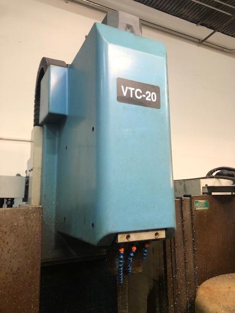Mazak Vertical Traveling Column VTC-20 machining Center With Mazatrol M Plus - Image 2 of 4
