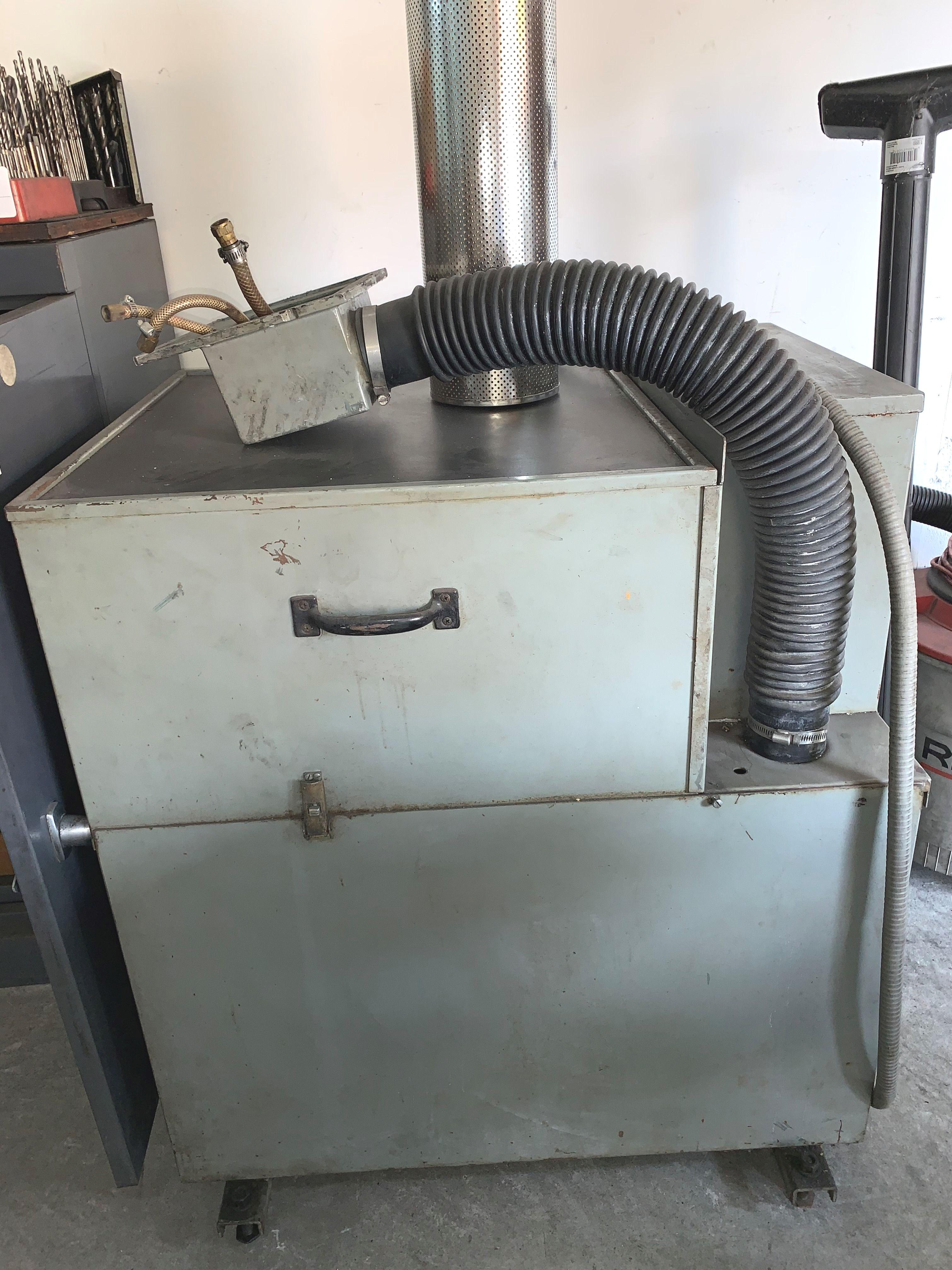 Eltee Pulsitron EDM Machine, E.P. 30, Serial # 0919, Vacuum & Extra Filters - Image 2 of 2