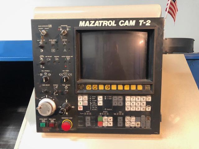 Mazak Quick Turn 20N With Mazatrol Cam T-2 - Image 3 of 4