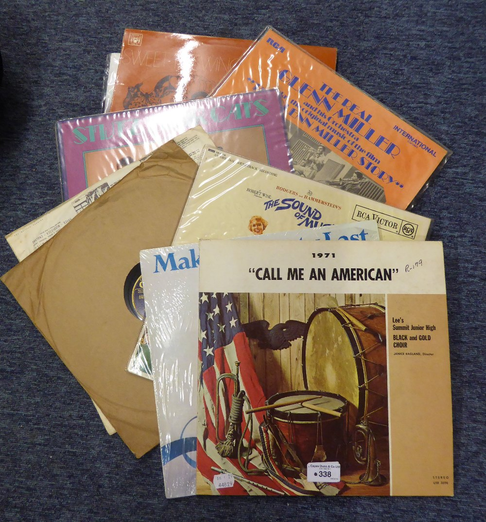 Lot 338 - A COLLECTION OF LP RECORDS TO INCLUDE; CLAIR De LUNE, PAUL ROBESON, ETC... (APPROX 15)