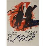 """Mikl - Wien, Galerie St. Stephan - 15.9 bis 5.10.1960"", 1960, Plakat-Grafik, Farblithographie,"