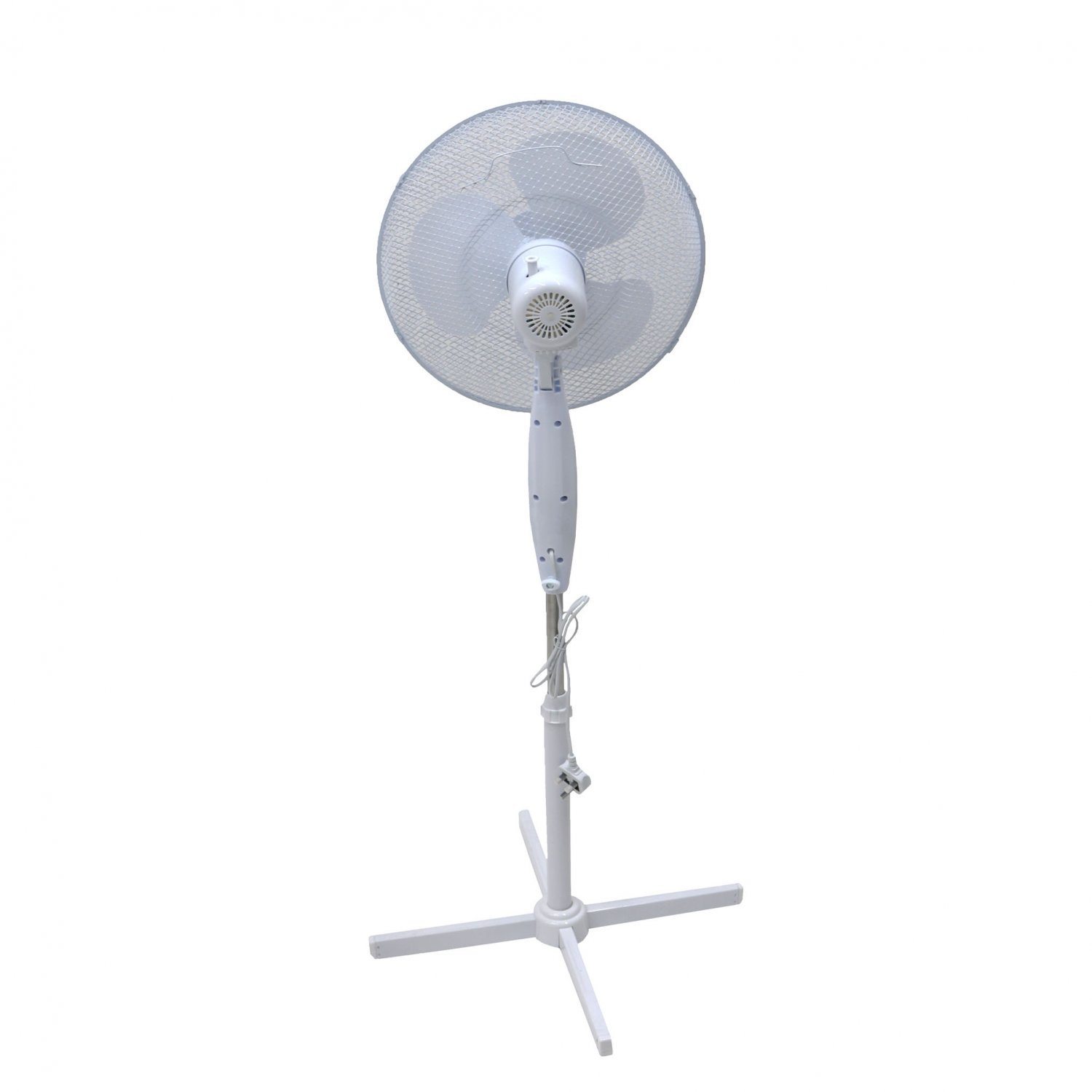 "(RL120) 16"" Oscillating Pedestal Electric Fan The fan head oscillates and tilts which m... - Image 2 of 2"