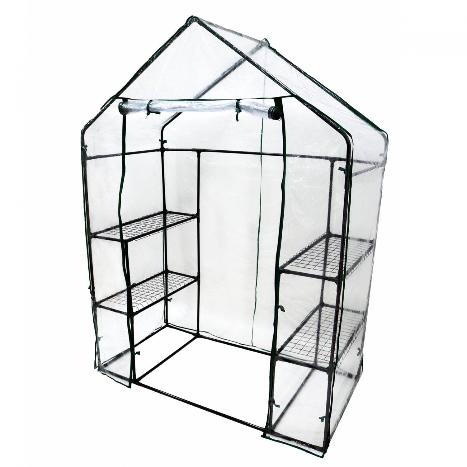 (RL113) 3-Tier 4 Shelf Mini Walk-in Growhouse Garden Greenhouse Our 3-tier Grow House p... - Image 2 of 2