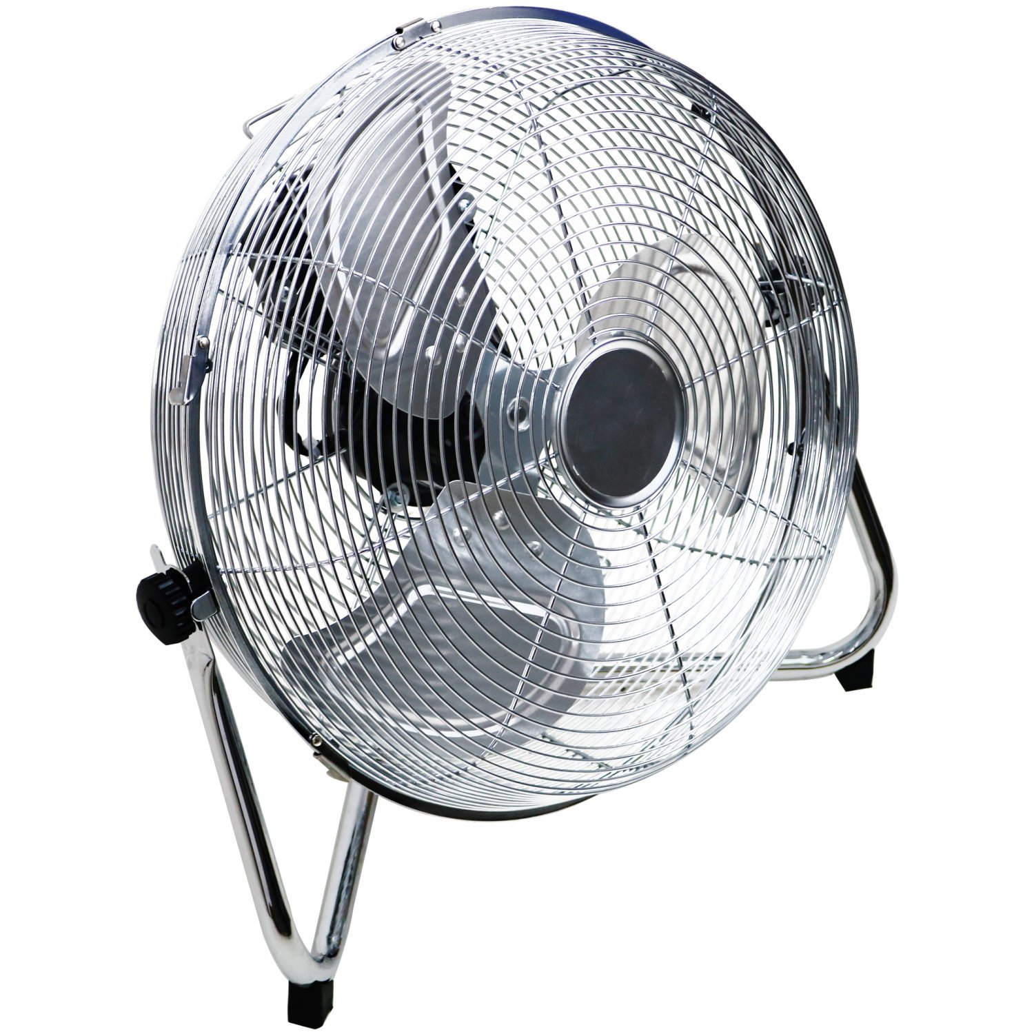 """(RL122) 14"""" Inch Chrome 3 Speed Floor Standing Gym Fan Hydroponic Stay cool this year with t... - Image 2 of 2"""