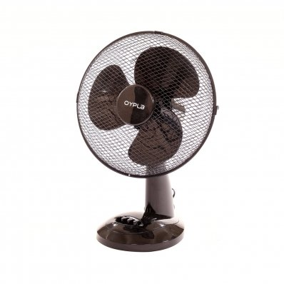 """(RL112) 12"""" 3 Speed Oscillating Black Electric Desk Home Office Fan Stay cool this year with..."""
