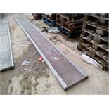 Aluminium Staging Board 4.9m