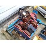 Geared Beam Trolley. X2 Chain Hoist