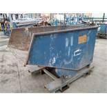 Conquip Forklift Tipping Skip 1000kg