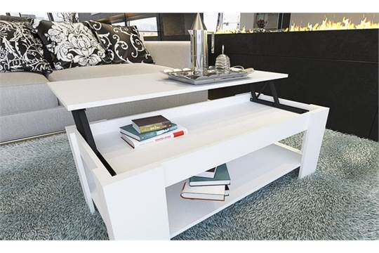 White Lift Up Coffee Table.Gfw Lift Up Coffee Table White