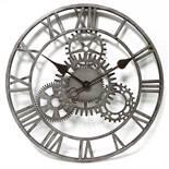 Williston Forge, Fiora The Cog 50.8cm Wall Clock (BLACK) RRP £77.99 (WLFG2268 - 14062/1) 3E