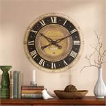 One Allium Way, Oversized Traditional 68.6cm Wall Clock RRP £107.99 (FLLL1002 - 13652/5) 3C