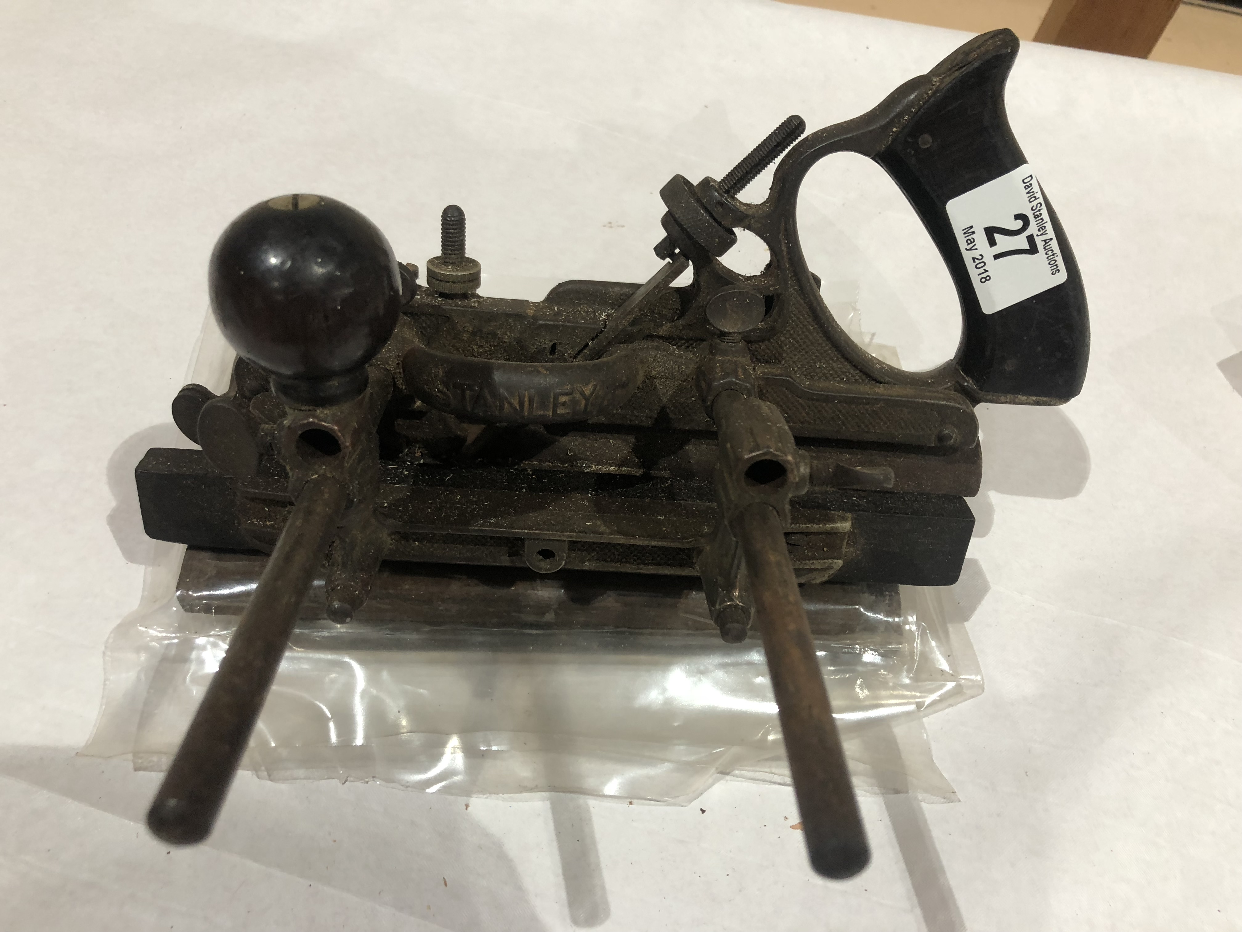 Lot 27 - A STANLEY No 45 with cutters G