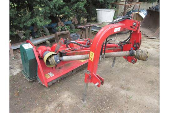 2004 Vogel & Noot Mastercut DS 160 hydraulic offset flail
