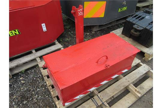 Tractor Fender Tool Box Mounted : Mounted tractor tool box