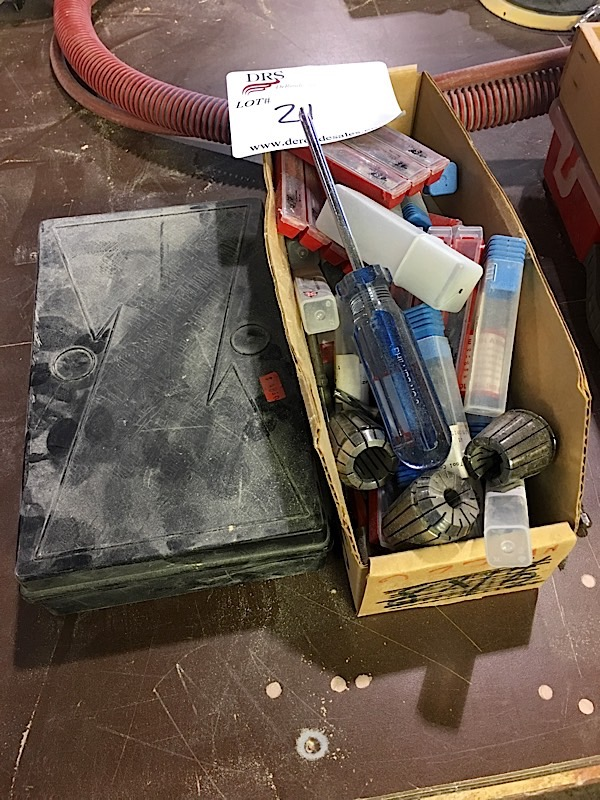 LOT OF MISC. DRILL BITS