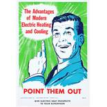 7 Original Midcentury Modern Advertising Posters Electric Mad Men