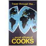 Advertising Poster Cooks Midcentury Travel Good