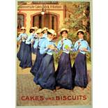 Advertising Poster TET Cakes und Biscuits