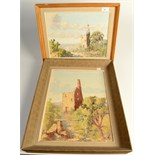 Lot 51 - Neil Miners, two small oil paintings, Cornwall.