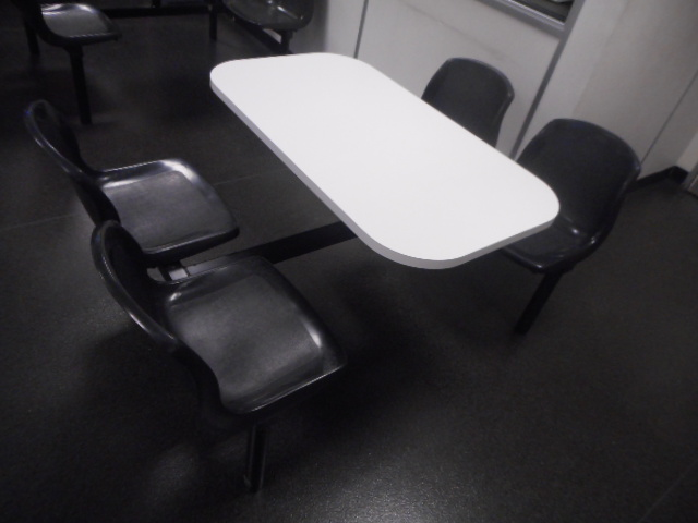 Lot 2 - 15 Canteen Picnic Style 4 Seater Table and Chairs