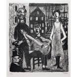 Georges Item. Aus der Dreigroschenoper. 12 Originallithografien. Opéra de quat'sous. 12