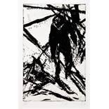 Friedemann Hahn (geboren 1949). Schattengitter. Acht Radierungen und ein Text. Acht