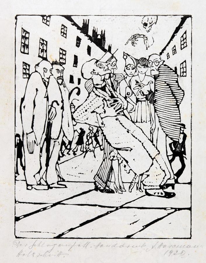 Arminius Hasemann. – Die Druckgraphik - Eine Radierung und neun Holzschnitte. 1917–1932. Alle