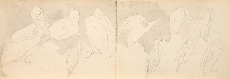 Arminius Hasemann. – Die Skizzenbücher - Sechs Skizzenbücher mit etwa 400 Skizzen, meist in - Image 5 of 7