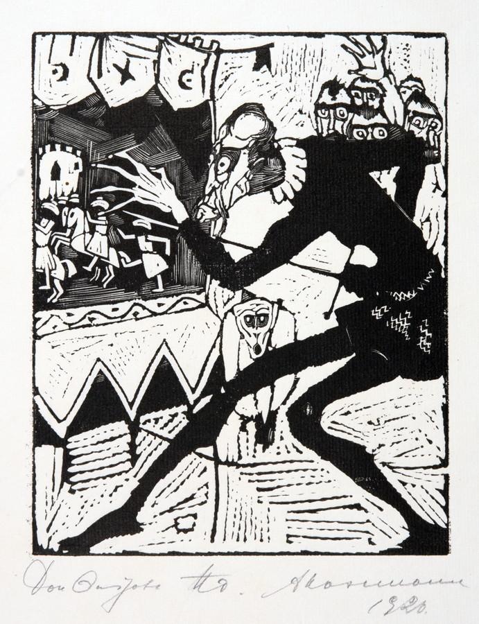 Arminius Hasemann. – Die graphischen Zyklen - Don Quijote von der Mancha, Ritter der traurigen