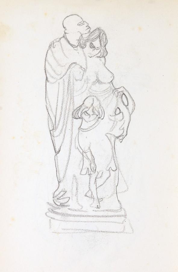 Arminius Hasemann. – Die Skizzenbücher - Sechs Skizzenbücher mit etwa 400 Skizzen, meist in - Image 6 of 7