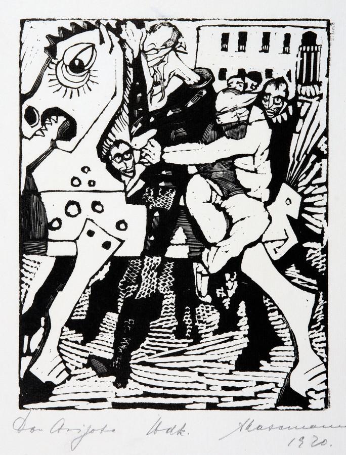 Arminius Hasemann. – Die graphischen Zyklen - Don Quijote von der Mancha, Ritter der traurigen - Image 5 of 5