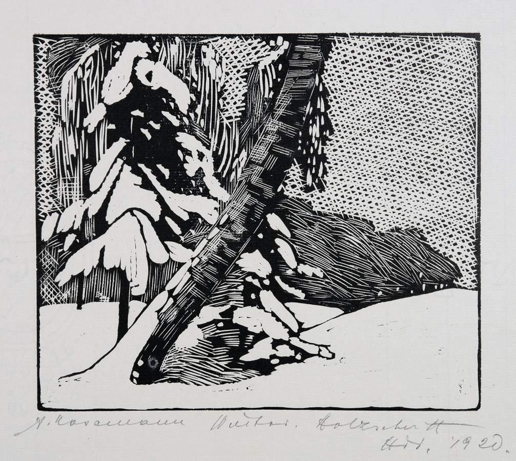 Arminius Hasemann. – Die Druckgraphik - Eine Radierung und neun Holzschnitte. 1917–1932. Alle - Image 3 of 5