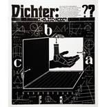 Rixdorfer - Ein Dichterleben. Ein Zwiegespräch in Wort & Bild. Gümse 1976. Neun signierte