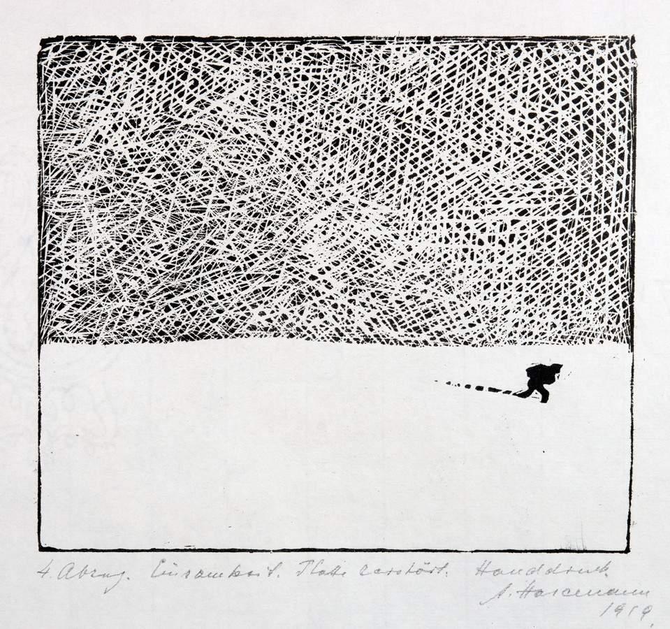 Arminius Hasemann. – Die Druckgraphik - Eine Radierung und neun Holzschnitte. 1917–1932. Alle - Image 2 of 5