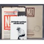 Joseph Beuys. Documente No. 1. Multiple (Zeitung, Plakat, Postkarte in Pappkarton). 1977. 21,5 :
